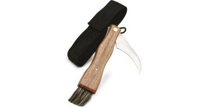 Sagaform Outdoor Adventure Wooden Handle Mushroom Knife