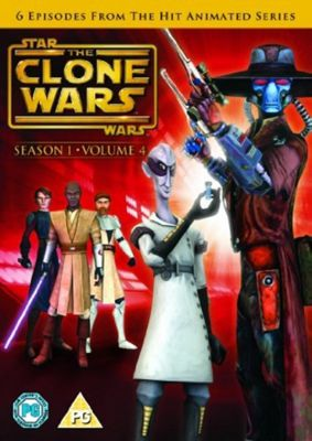 Star Wars - Clone Wars - Series 1 Vol 4 (DVD Boxset)