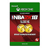 NBA 2K18: 15,000 VC DIGITAL CARDS (Digital Download Code)