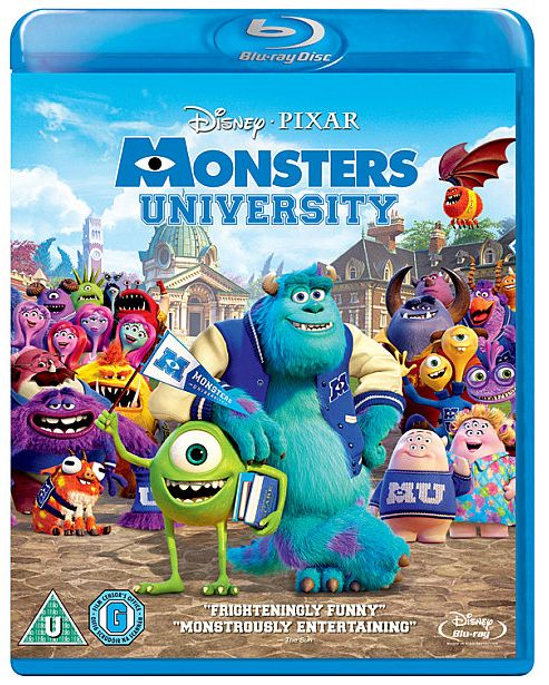 Monsters University (2 Disc BR)