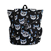 Banned Kitty Skull Black Satchel