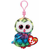 TY Beanie Boo Key Clip - Owen the Owl