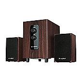 Logitech Speaker System - 10 W RMS - Brown