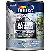 Dulux Weathershield Multi Surface Paint - Vast Lake - 750ml