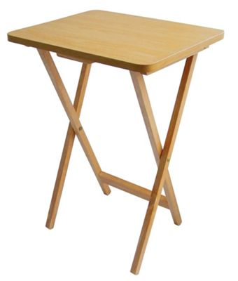 Buy Premier Housewares Folding Snack Table (Set of 2) from our Side ...