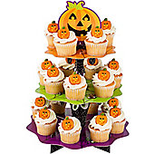 Halloween Cake Decorations Pumpkin Cupcake Stand