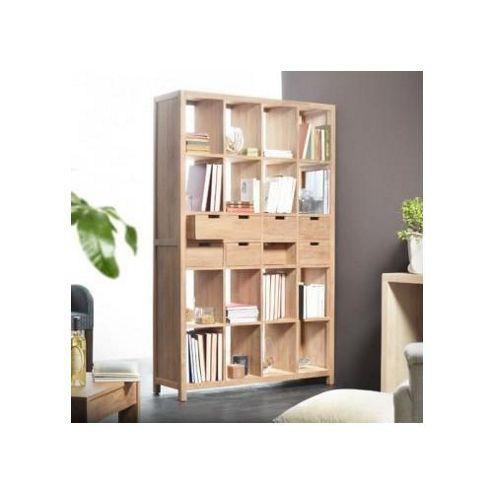 Tikamoon Anoa Vis-Versa Teak Bookcase