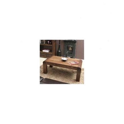 Baumhaus Shiro Medium Open Coffee Table in Walnut