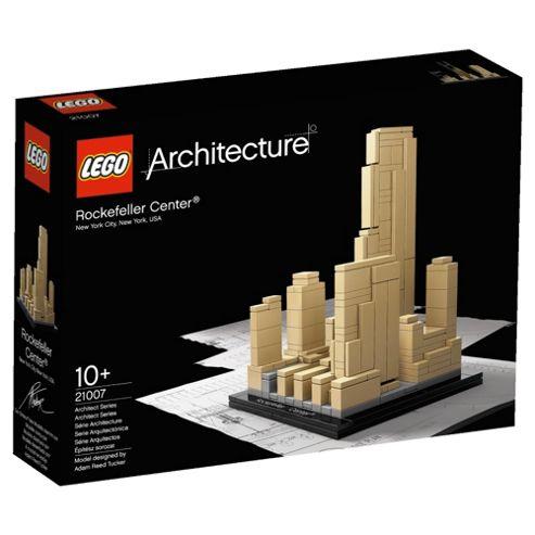 LEGO Architecture Rockerfeller Plaza 21007