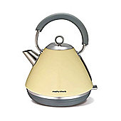 Morphy Richards 102003 1.5 Litre Accents Traditional Kettle - Cream