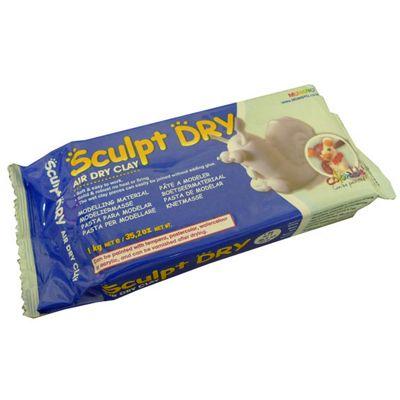 Sculpt Dry Air Drying Clay - 1kg - White