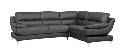 Sofa Collection Abbotsford Corner Sofa - Black
