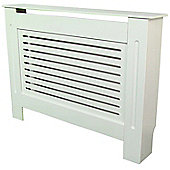Jack Stonehouse Horizontal Slat Painted MDF Radiator Cover Small