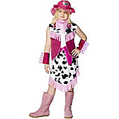 Child Rodeo Cowgirl Costume Large