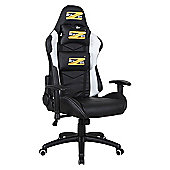 BraZen Shadow PRO Gaming Chair - Bck/Wht