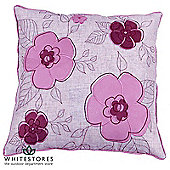 Odette Scatter Cushion - Mulberry