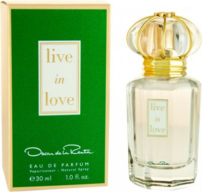 Oscar De La Renta Live in Love Eau de Parfum (EDP) 30ml Spray For Women