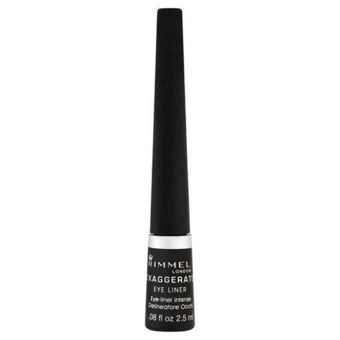 Rimmel Exaggerate Liquid Eyeliner 100% Black