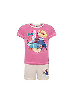Disney Frozen Toddler Girls Short Pyjamas - Pink