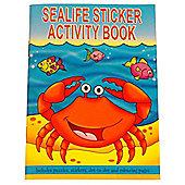 A6 Sealife Sticker Activity Book