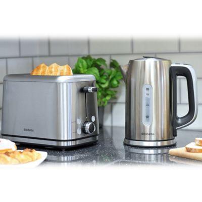 buy brabantia bqpk02 breakfast set kettle and 4 slice. Black Bedroom Furniture Sets. Home Design Ideas