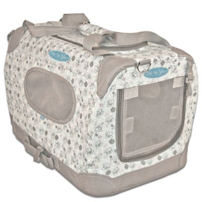 Buy Me To You Canvas Pet Carrier Medium 33 Cm H X 50 Cm W X 33 Cm
