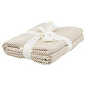Tesco Chevron Natural Throw