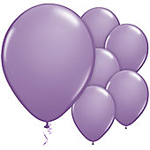 Spring Lilac 11 inch Latex Balloons - 100 Pack