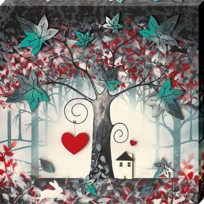 Garry Floyd The Enchanted Forest II Canvas Print 30 x 30 x 3.8cm