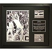 Framed Sir Ian Botham signed image