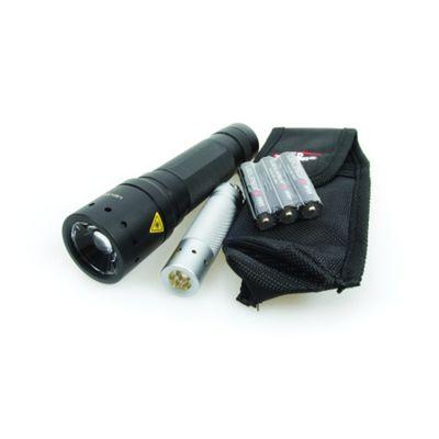 LED Lenser Police Tech Focus Gift Set - Free V2 Key Finder!