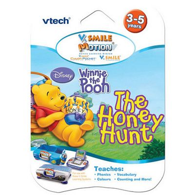 VTech V.Smile Winnie the Pooh The Honey Hunt Learning Game