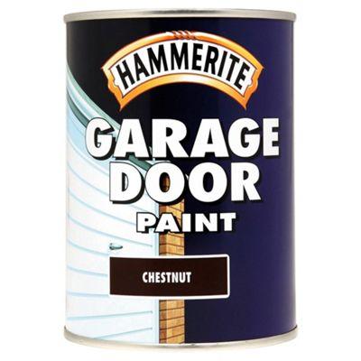 Hammerite Garage Door Paint Chestnut 0.75L