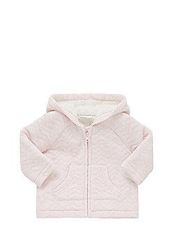 F&F Fleece Lined Chevron Jacket - Pink