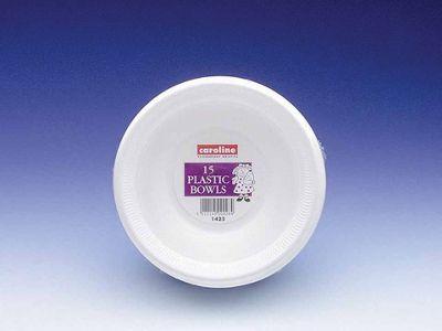 Caroline T1425 8Oz Plastic Bowl 225Ml X15