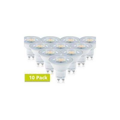 Integral LED GU10 Classic PAR16 5.5W (50W) 2700K 380lm Dimmable LED Spotlight Bulb - 10 Pack