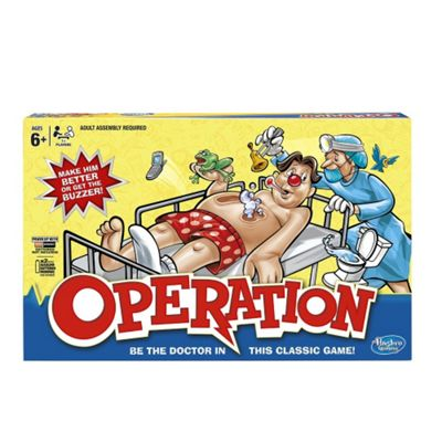 Classic Operation from Hasbro Gaming