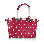 Reisenthel Foldable Carry Shopping Bag in Robu Red Dots BK3014