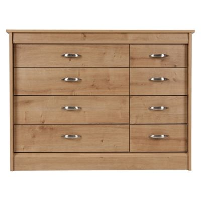 Thornton 8 Drawer Chest,  Oak Effect