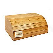 Woodluv Bamboo Roller Shutter Bread Storage Bin