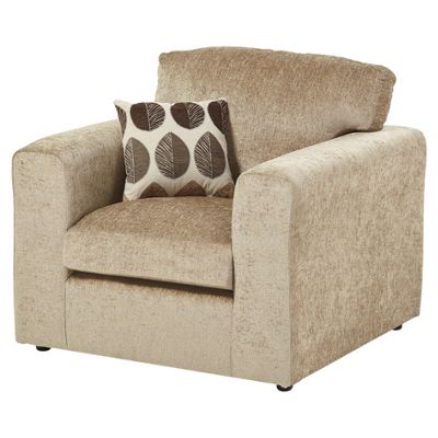 Whitton Scatterback Armchair, Taupe