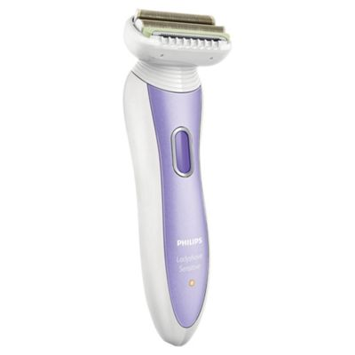 Philips Ladyshave HP6368/00 Sensitive Premium 4-in-1 Skin Protection System with Pivoting Head