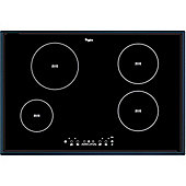 Whirlpool ACM812/BA Induction Hob in Black 9 power levels