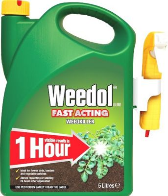 Weedol Fast Acting Weedkiller - Power Sprayer - 5 Litre