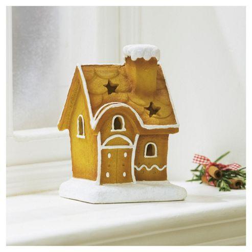 Tesco Gingerbread House Christmas Decoration