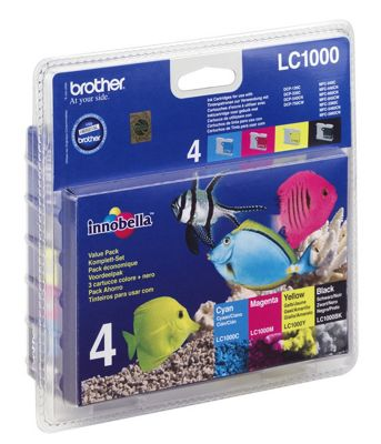 Brother Printer ink cartridge for DCP-130 DCP-330 DCP-350 DCP-540 - Colour