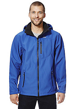 Trespass Torrie Fleece Lined Softshell Jacket - Electric blue