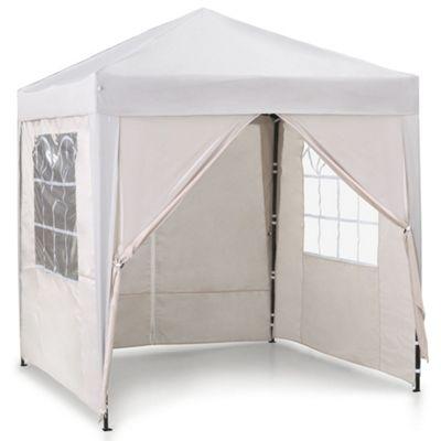 VonHaus Pop Up Gazebo 2x2m - Outdoor Garden Marquee with Water-resistant Cover