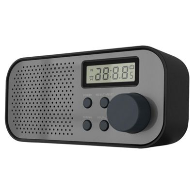 Tesco R1601 FM PLL Portable Radio (Black)