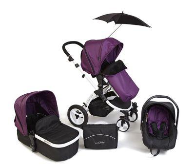 Your Baby Alaska 8 Piece Travel System - Deep Purple